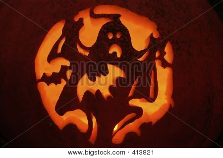 Season Halloween Pumpkin