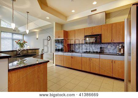 Cozinhas madeira modernas