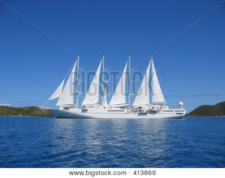 Motor Sailing Yacht