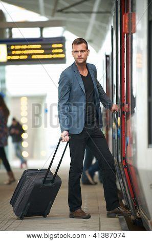 Businessman Traveling
