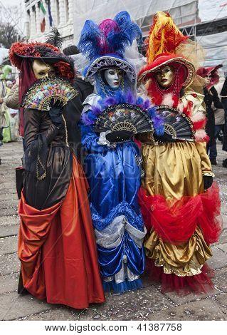 Colorful Venetian Costumes