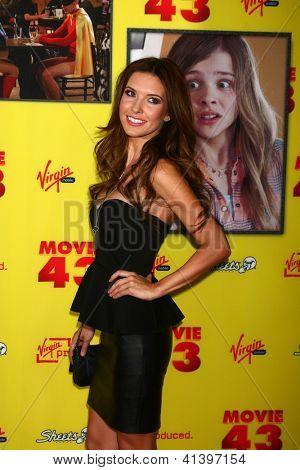 LOS ANGELES - JAN 23:  Audrina Patridge arrives at the