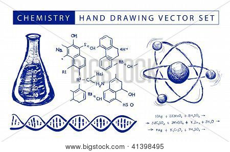 Chemistry hand drawing