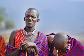 young Maasai man