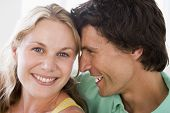 stock photo of close-up middle-aged woman  - Close up of a Couples - JPG