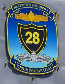 Destroyer squadron 28 patch