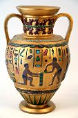 stock photo of chalice antique  - antique arab or ancient egyptian vase