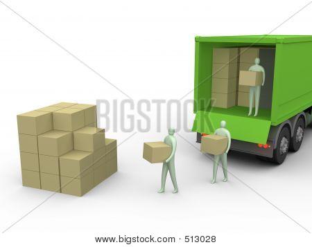 Cargo Truck #2