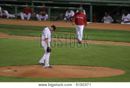 Jon Lester And Terry Francona