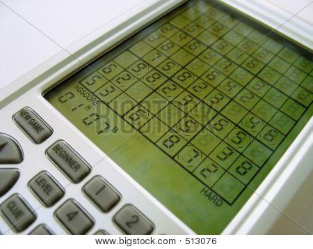 Elektronisches Sudoku-Spiel