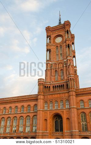 City Hall (Rotes Rathaus) in Berlin, Germany