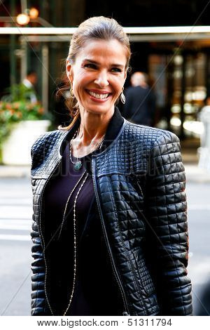 NEW YORK-SEP 23: Actress Kristian Alfonso arrives at the 'Days of our Lives: Better Living' book tour on September 23, 2013 in New York City.