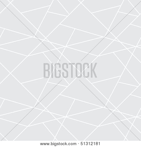 Vector Seamless Geometric Simple Pattern - Gray Abstract Background