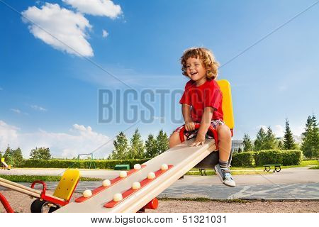 Riding Seesaw