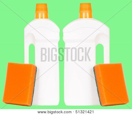 Dishsoap Containers Isolated