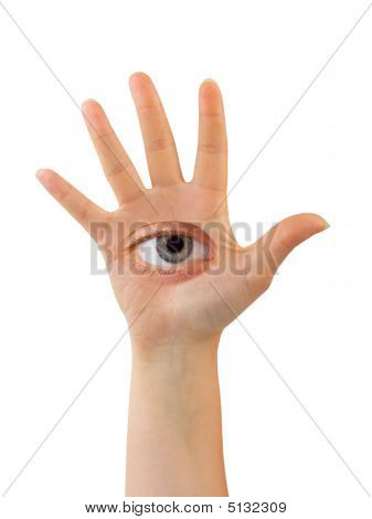 Hand With Eye