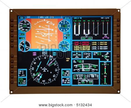 Airplane Control Panel