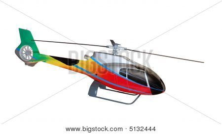 Model Of Helicopter