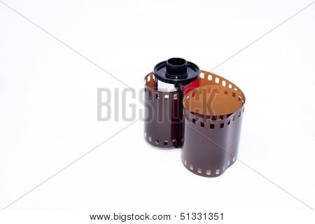 Photo Film 35Mm And Casing