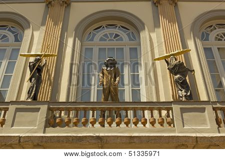 Facade Of Dali Museum, Figueres, Spain
