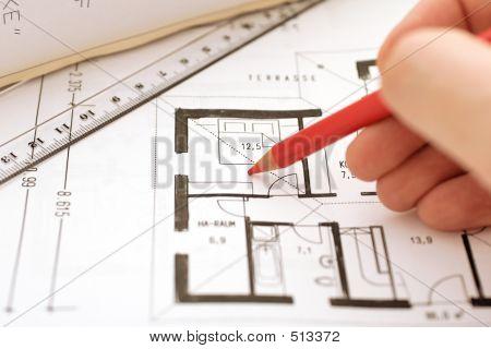 Corretion On A Floor Plan