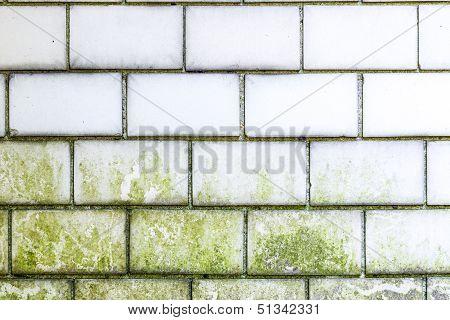 Old Brick Wall Pattern Closeup