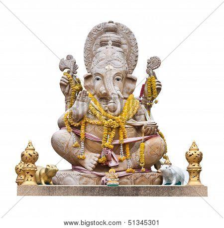 Hindu God Ganesh .