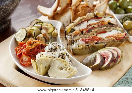 Rustic Vegetables Spread
