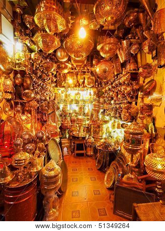 Shop In Marrakesh