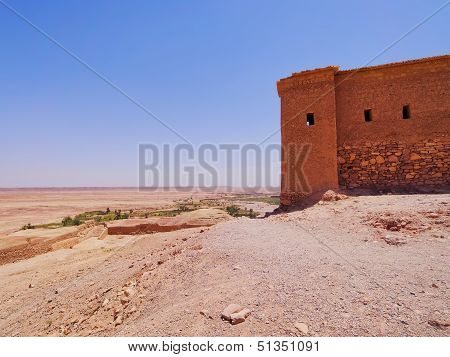 View From Ait Benhaddou, Morocco