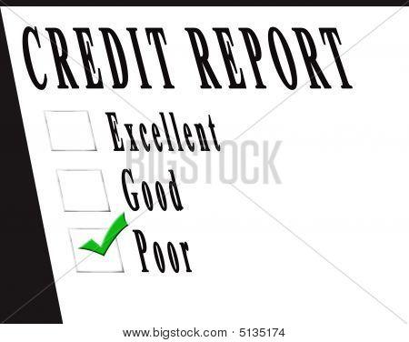 Credit Report Poor
