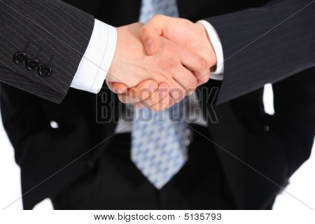 Businessmen`s Handshake