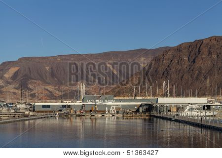 Lake Mead Recreation Area In Boulder City, Nv On January 30, 2013