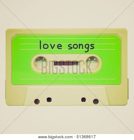 Retro Look Tape Cassette