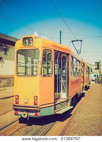 Retro Look A Tram