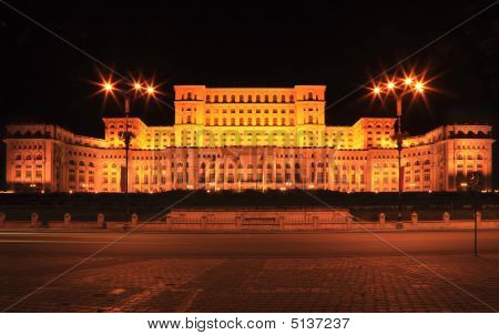The Palace Of The Parliament in Romania