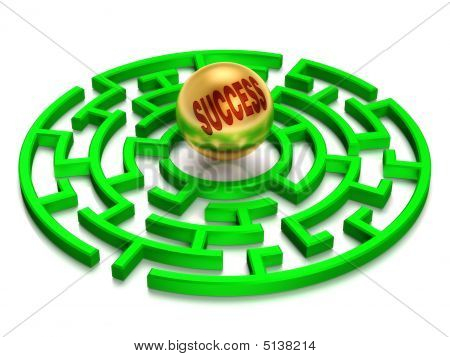 Success Labyrinth.