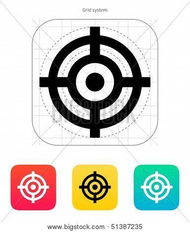 Crosshair icon.