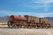 Historical Wood Wagon poster