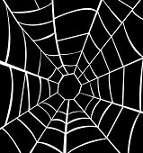 stock photo of cobweb  - Vector illustration of cobweb abstract art  for Halloween - JPG