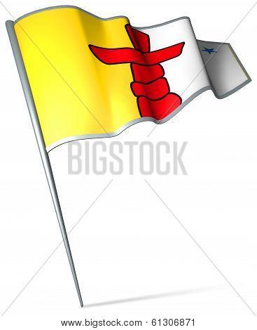 Flag Of Nunavut (canada)