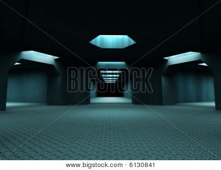 Space ship room