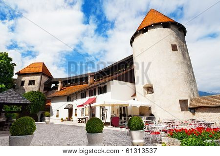 Bled Castle Walls