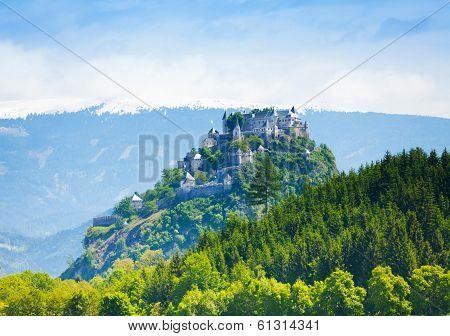 Hochosterwitz Castle In Austria