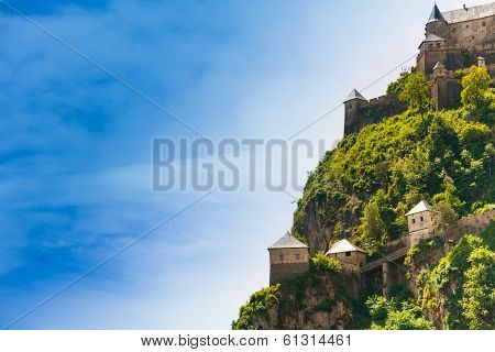 Side Hochosterwitz Castle In Austria