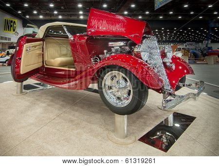 1933 Ford Roadster Interpretation