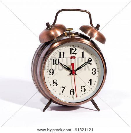 Vintage Style Alarm Clock With Bells