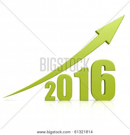 2016 Growth Green Arrow
