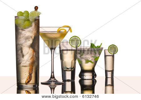 Five Vodka Cocktails