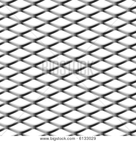 Chainlink fence. Seamless. Vector.